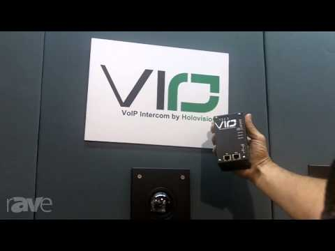CEDIA 2013: Holovision Details its Intercom Door Stations