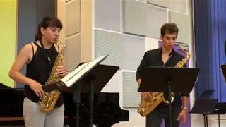 Drops de Stylianos Dimou – IberoSudamericano Saxophone Quartet