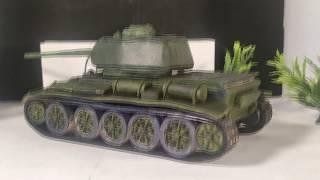 Модель танка Т 44 из пластелина своими руками