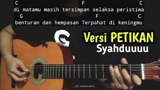 Kunci Gitar TITIP RINDU BUAT AYAH - Ebiet G Ade | Versi Petikan Mudah