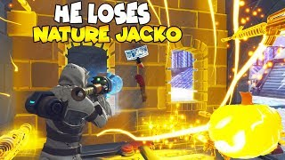 Raging Scammer Loses NATURE Jack O Launcher! (Scammer Gets Scammed) Fortnite Save The World