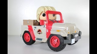 Jurassic Park JEEP with ELLIE SATTLER Funko Pop Ride review