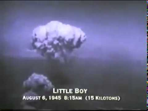 Real Footage - Atomic Bomb- Hiroshima and Nagasaki