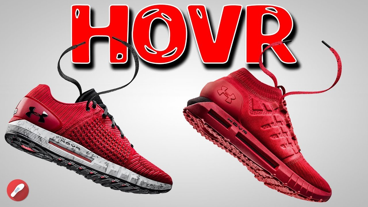 huge selection of 4bba0 f270d Under Armour Hovr Phantom & Sonic Review! Amazing New Cushion by UA!