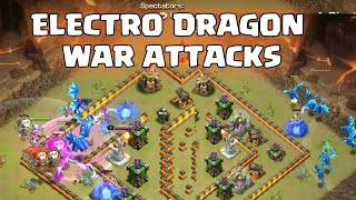 ELECTRO DRAGON ATTACK TH11 😍