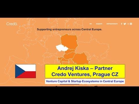 Czechia :: Andrej Kiska - Credo Ventures - Startup Ecosystems in Central Europe - Jan 22 2018