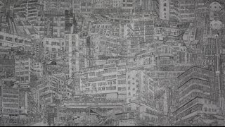 HONG KONG DRAWING TIMELAPSE. 148 HOURS // REALISTIC PENCIL DRAWING