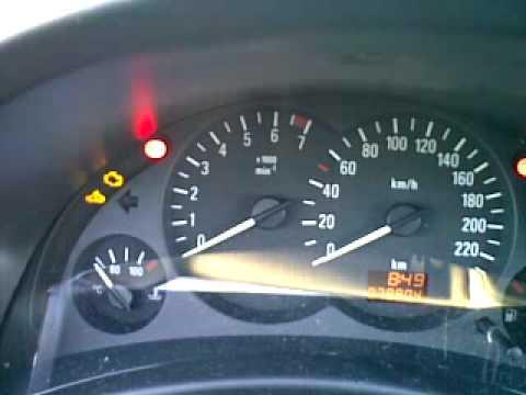 Opel Corsa C - Fehlercode Ausblinken mit der Motorkontrolleuchte ...   {Auto cockpit erklärung 81}