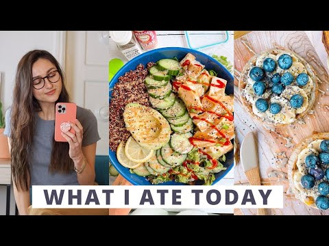 What I Ate Today + My Long Hair Care Routine
