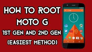 How To Root Moto G 1st Gen and 2nd Gen | Easiest Method