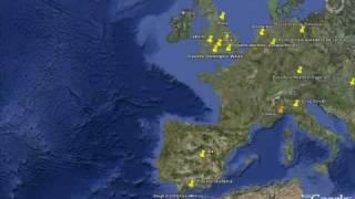 Lugares Secretos y Bacanos de Google Earth con coordenadas 2