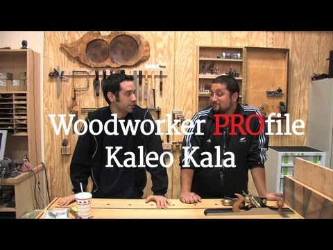 43 - Woodworker PROfile: Kaleo Kala Interview