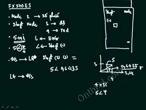sử dụng máy tính để giải bài toán điện   lý thuyết