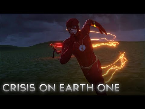 Crisis on Earth One 3D Animated Promo by Renz - CW The Flash Lightning V7
