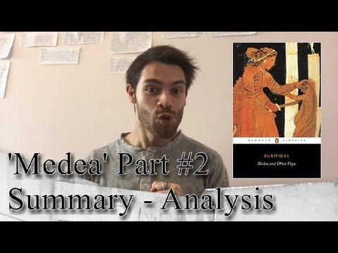 Medea Part #2 - Summary Analysis (Yr12)