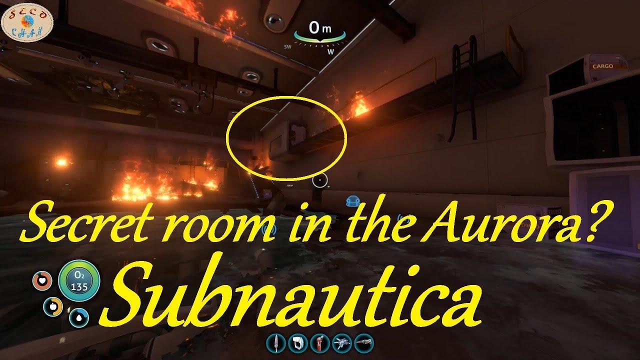 Subnautica Secret Room In Aurora Prawn Dock Full Release