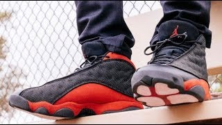 Air Jordan Bred 13 Retro Sneaker HONEST REAL REVIEW With Reflective Test