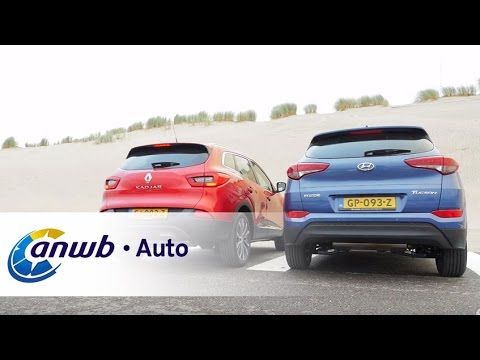 Hyundai Tucson vs Renault Kadjar 2015 dubbeltest ANWB Auto