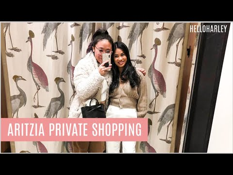 MY ARITZIA PRIVATE SHOPPING APPOINTMENT!