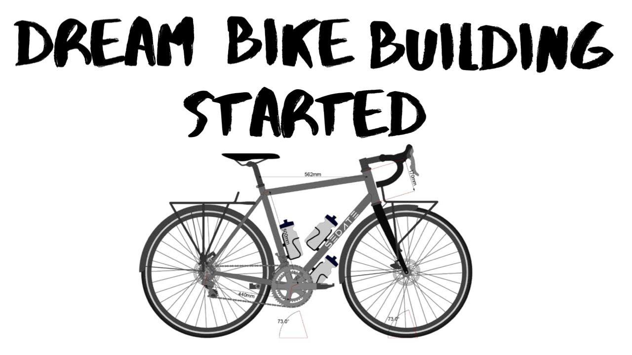 DREAM BIKE BUILDING STARTED I GIVE AWAY I SCOTT CARRIER