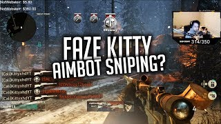 ANGRY Trash Talker Calls Me Out for AIMBOT SNIPING On *NEW* Map!!
