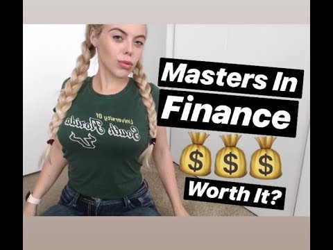 Masters in Finance: Is it worth it? (from a finance major)