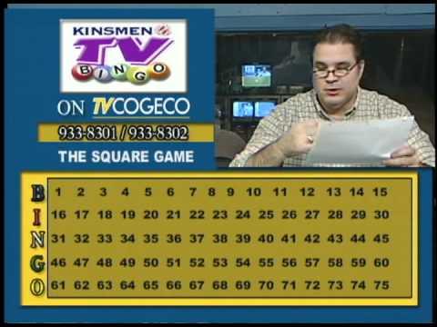 Kinsmen Bingo Tv