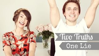 Two Truths, One Lie with Marcus | Zoella Thumbnail