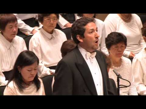 """""""Comfort ye and Ev'ry valley"""" from Handel's Messiah"""