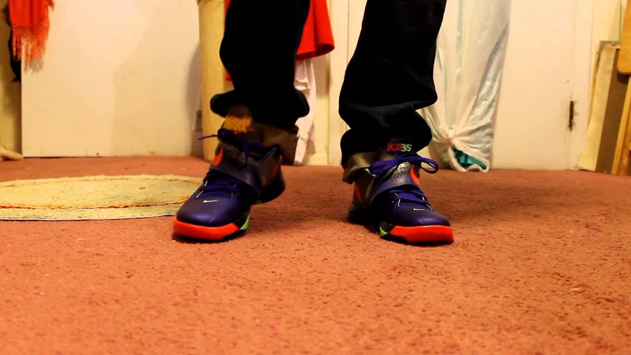 """Nerf Kd 4 """"On Feet"""" - YouTubeKd 4 On Feet"""