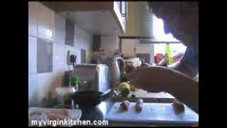 Stuffed Baked Potatoes, Chive Dip & Grilled Chicken - Myvirginkitchen