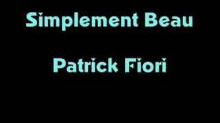 Patrick Fiori simplement beau