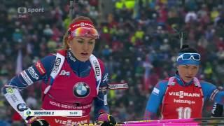 Biatlon Závod s hromadným startem ženy NMNM