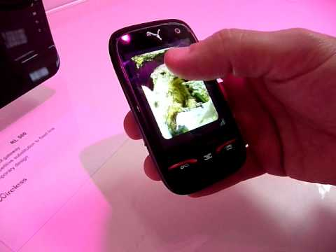 Puma phone at Mobile World Congress 2010
