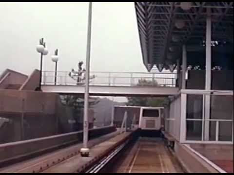 Riding the Morgantown PRT (Personal Rapid Transit) in 1995