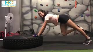 Janhvi Kapoor Intense Workout HEAVY WEIGHT SQUATS to get Toned Legs