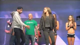 Sexiest Ronda Rousey Moment Ever!!!