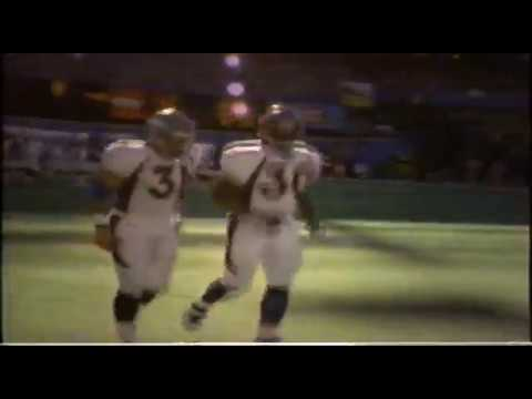 1997 AFC Championship Game highlights - Denver at Pittsburgh