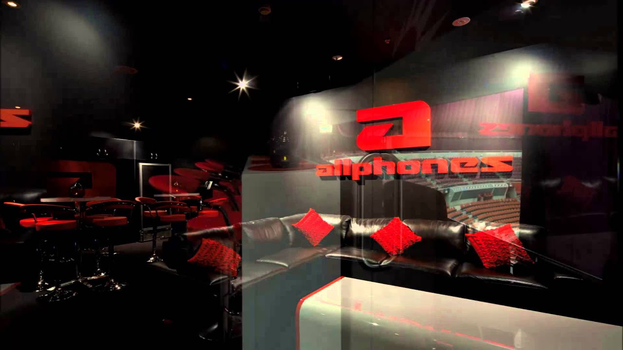 Allphones Corporate Box Arena Sydney Olympic Park NSW Interior Design