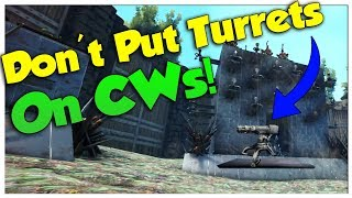 DON'T Put Turrets On Catwalks...EVER! - Duo Official Small Tribe PvP | Ark Survival Evolved | Ep10