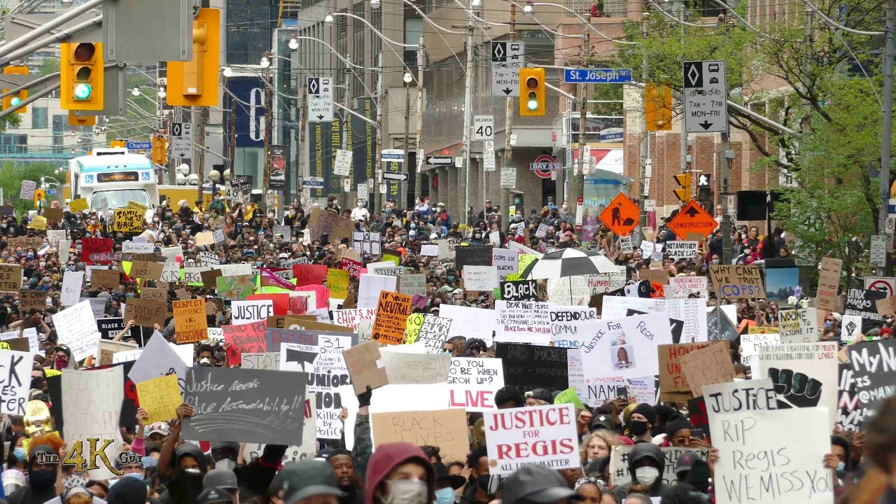 Toronto: Thousands take the streets against police violence 5-31-2020