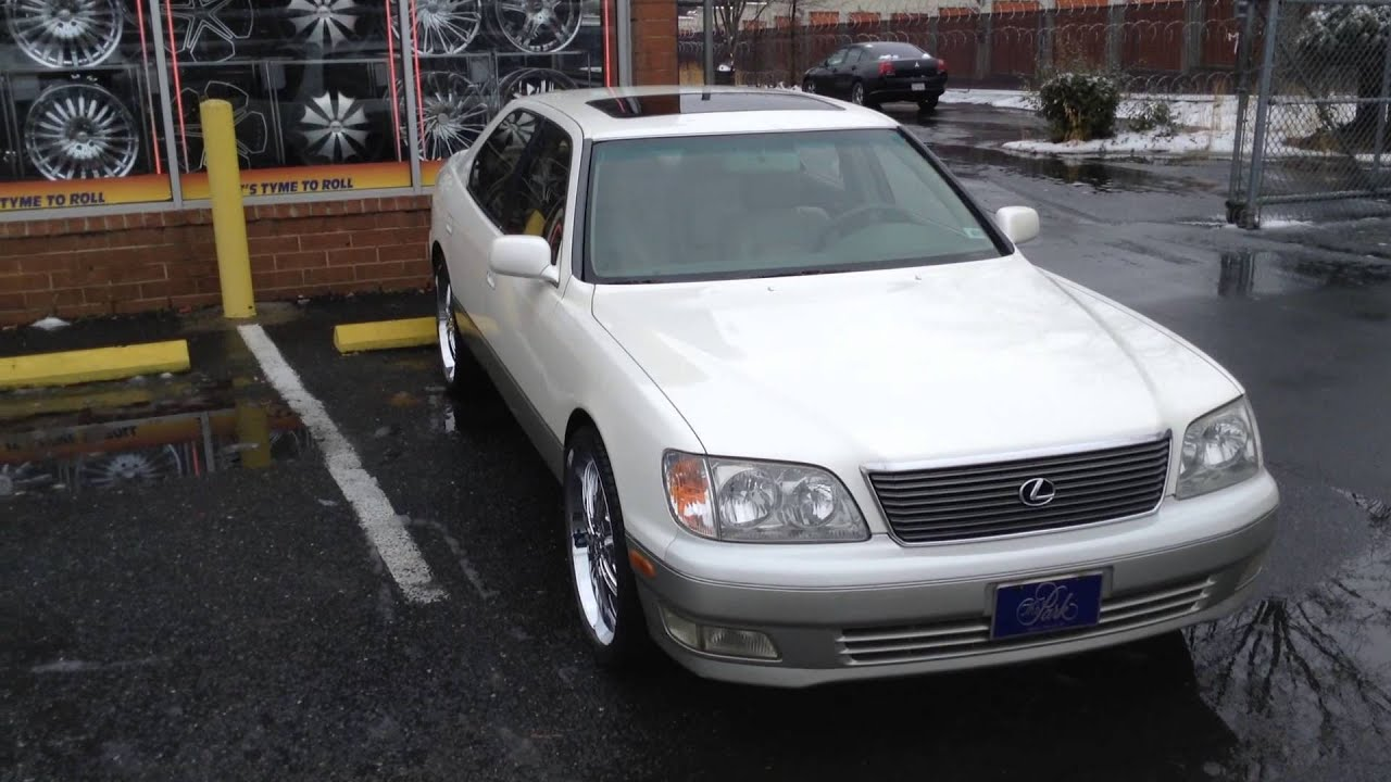 1996 Lexus Ls400 98 Lexus Ls 400 Sitting On 223939 Sik 004 Rims At Rimtyme Charlotte