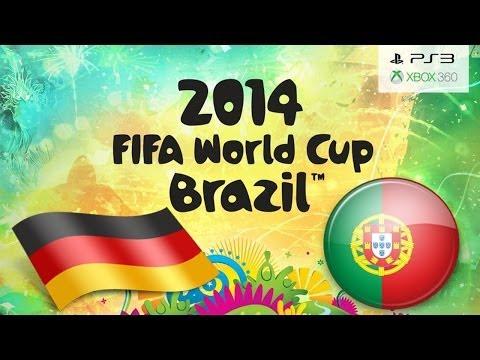 FIFA 14 WORLD CUP BRAZIL Germany Vs Portugal ( Simulation )