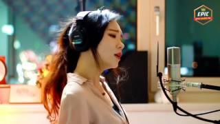اروع اغاني مشهورة لسنة 2017  بصوت فتاة كورية روعة