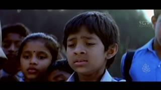 Master Kishan comes to Thara's House | Kannada Super Scenes | Care Of Footpath Kannada Movie
