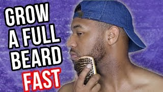 5 Steps: HOW TO GROW A THICKER, FULL BEARD FASTER + TUTORIAL | TrendingTrent