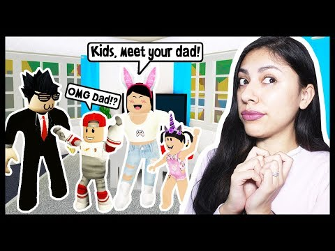 MY KIDS MET THEIR DAD FOR THE FIRST TIME! - Roblox Roleplay thumbnail