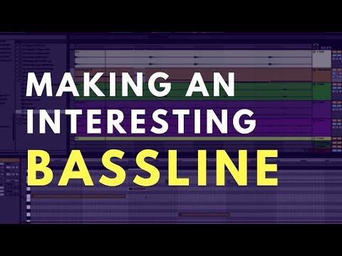 Making An Interesting Bassline | Music Production Tutorial