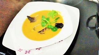 Испанская кухня. Рыбный суп с моллюсками. Рецепт.