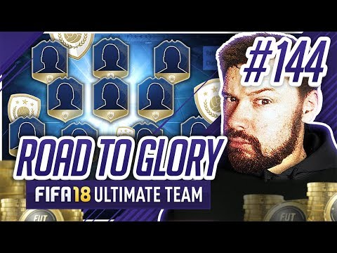 HUGE ICON TEAM!! - #FIFA18 Road to Glory! #144 Ultimate Team